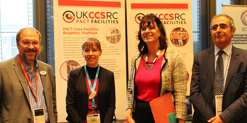 Claire Perry visits PACT display at global conference